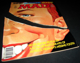 MAD Magazine 263 June 1986 Alfred E. Neuman Tor... - $14.84