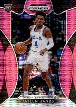 Jaylen Hands 2019-20 Panini Prizm Draft Picks Pink Pulsar Rookie Card #58 - $2.00