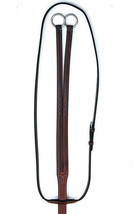 Bobby's Tack Lt Brown/Chestnut Fancy Stitch RUNNING Martingale - FULL SIZE - $94.00
