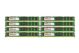 MemoryMasters 32GB (8x4GB) DDR3-1600MHz PC3-12800 ECC RDIMM 2Rx8 1.35V Registere - $978.39