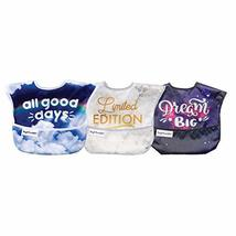 Tiny Twinkle Mess-Proof Easy Bib 3 Pack (Unisex)