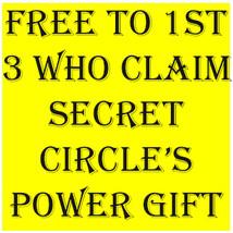 2 LEFT!!! W $99 SECRET CIRCLE RARE POWER GIFT MAGICK SCHOLARS CASSIA4 - Freebie