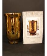 10 Inch Filigree Gold Hurricane Lamp Fifth Ave Crystal NIB - $3.99