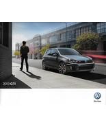 2013 Volkswagen GTI sales brochure catalog US 13 VW 2.0T Autobahn - $9.00