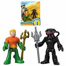 """Aquaman & Black Manta DC Super Friends Imaginext Figures 2.5"""" - $21.83"""