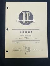 I&T Ferguson TE20 TO20 TO30 Tractor Service Repair Shop Manual FE-2 - $17.77