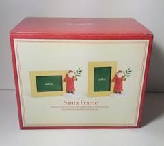 Hallmark Santa Frame 4x6 Vertical Horizontal Magnetic - $12.60