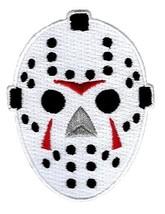 Hockey Goalie Mask Embroidered Patch Iron-On Friday the 13th Jason Emblem - $3.79