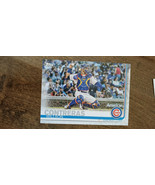 2019 TOPPS CLEAR WILLSON CONTRERAS CUBS REGIONAL PROMO PARALLEL CARD # C... - $9.99