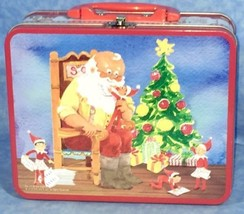 The Elf On The Shelf Lunch Box With 48 Piece Puzzle - $15.51