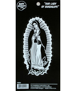 "Our Lady Of Guadalupe Vinyl Car Sticker Brand NEW Decal 5.5"" Tall - $8.39"