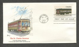 Oct 8 1983 The St. Charles Streetcar FDC #2062 Fleetwood  - $5.49