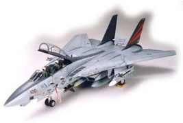 Tamiya 1/32 Aircraft No.13 US Navy Grumman F-14A Tomcat Black Knights JAPAN - $200.00