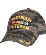 Tiger Stripe Camouflage Vietnam Veteran Military Adjustable Cap - $12.99