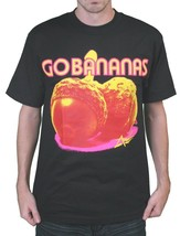 DTA Rogue Status Noir Hommes Go Bananes Noix T-Shirt Nwt