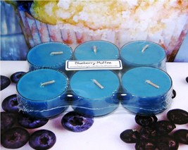 Blueberry Muffin PURE SOY Tea Lights (Set of 6) - $5.00