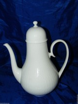 Rosenthal ROMANCE All WHite Large Coffee Pot 15055 Continental Studio Linie - $83.80