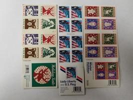60 USPS Lady Liberty & Holidays winter (.39-.41&.44) cent self adhesive ... - $28.04