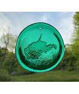 Blenko Glass Suncatcher - West Virginia - Emerald Green - $18.95