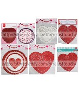 MOMENTUM* Various Sizes HEART DOILIES Party Supplies VALENTINES DAY *YOU... - $2.38