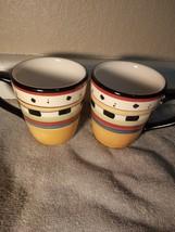 (2)  PHILIPPE RICHARD  TIMBERLAND  COFFEE MUGS / CUPS  --FREE SHIP--VGC - $26.27