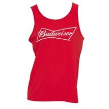 Men's Budweiser Tank Top Red - $28.98