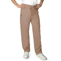 Scrub Pants Khaki Tan 2XL Adar 504 Drawstring Waist Uniform Bottom Unise... - $19.37