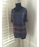 BURBERRY Check Top - New Size Large - $166.32