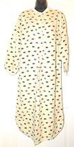 Woolrich Woman Sheep's Print 100% Cotton Flannel Nightshirt Size: M