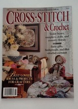 Vintage Cross-Stitch & Crochet Patterns Instruction 1989 BH & G Creative... - $5.86