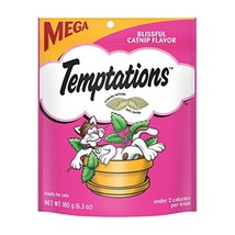 Temptations Classic Treats For Cats Blissful Catnip Flavor 6.3 Ounces Pa... - $35.54