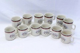 Royal Seasons Snowman Xmas Cups Lot of 12 - $48.99