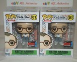 ARTIST KEITH HARING 01 FUNKO POP 2019 FALL CON EXCLUSIVE