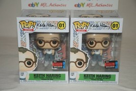 ARTIST KEITH HARING 01 FUNKO POP 2019 FALL CON EXCLUSIVE - $23.72