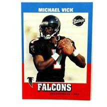 Michael Vick 2001 Upper Deck Vintage Rookie Card #204 NFL Atlanta Falcons - $2.92