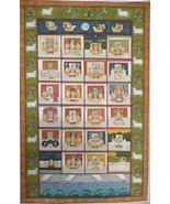 Original hand painted pichwai painting shrinathji swaroop decor traditio... - $550.31