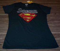 Vintage Style Women's Teen Dc Comics Superman T-shirt Xl New w/ Tag - $19.80