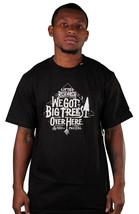 LRG Groß Bäume Über Hören T-Shirt