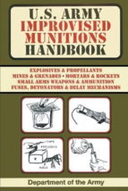 U.S. Army Improvised Munitions Handbook - $11.95