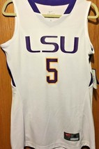 Women's Authentic College NIKE LSU Tiger Basketball NCAA Jersey 554700 NWT - $79.19