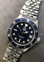 Matte Version: Tag Heuer 1000 Bezel Insert: 980.613 Blue Watch Replacement Part - $49.99
