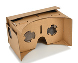 Cardboard DIY 3D Virtual Reality Glasses for 4-7inch iPhone Samsung Smart Phones