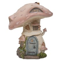 Miniature Fairy Garden of Enchantment Mushroom Fairy Toadstool Cottage F... - £21.58 GBP