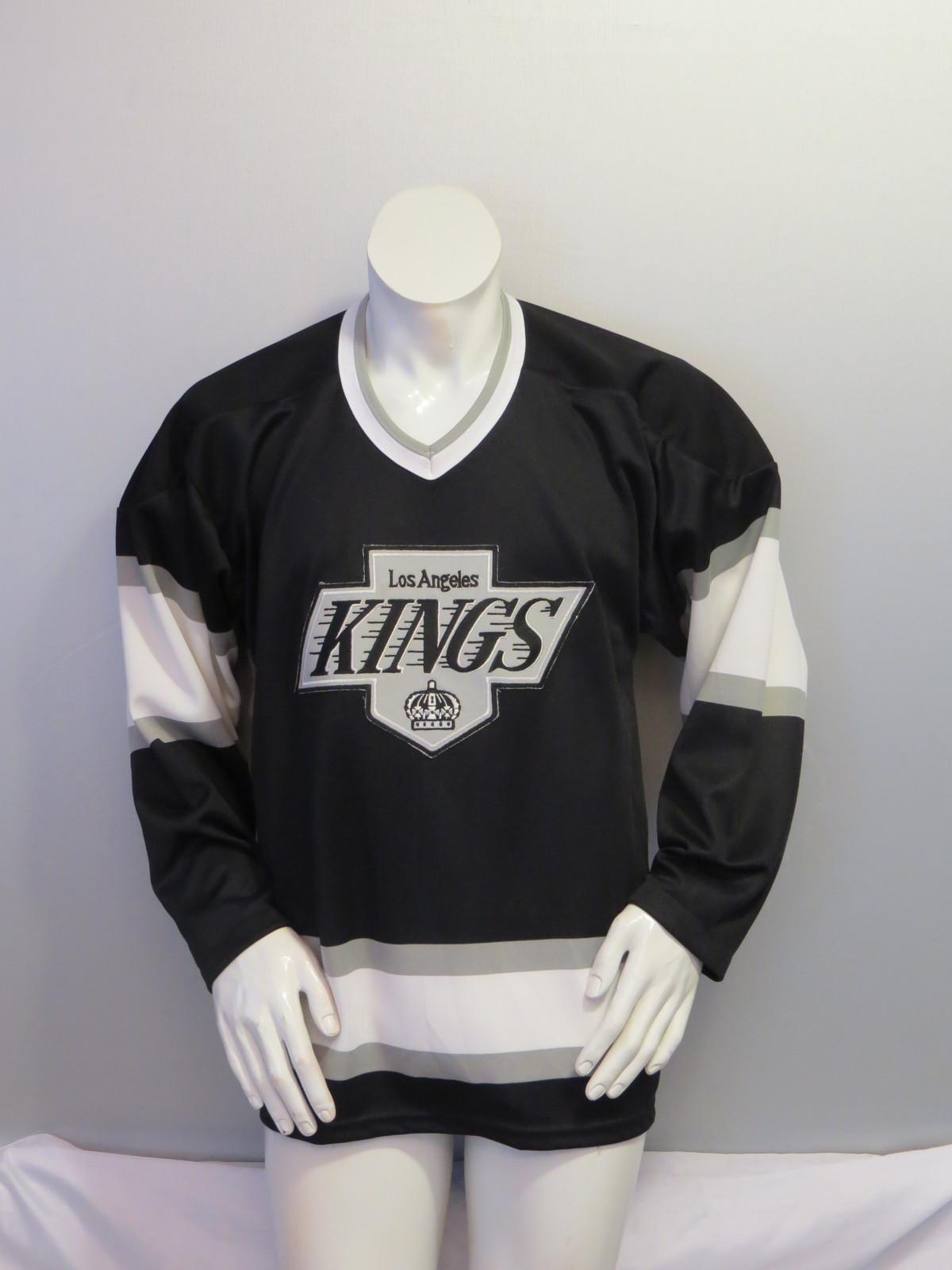 Vintage LA Kings Jersey - Away Black by CCM - Men's Medium