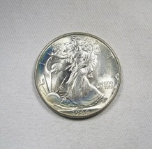 1944-P Silver Walking Liberty Half Dollar CH UNC Coin AJ75 - $47.34