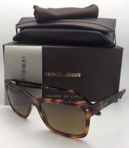 Polarisierend Giorgio Armani Sonnenbrille Ar 8028 5007/M7 55-18 Schildkr... - $250.71
