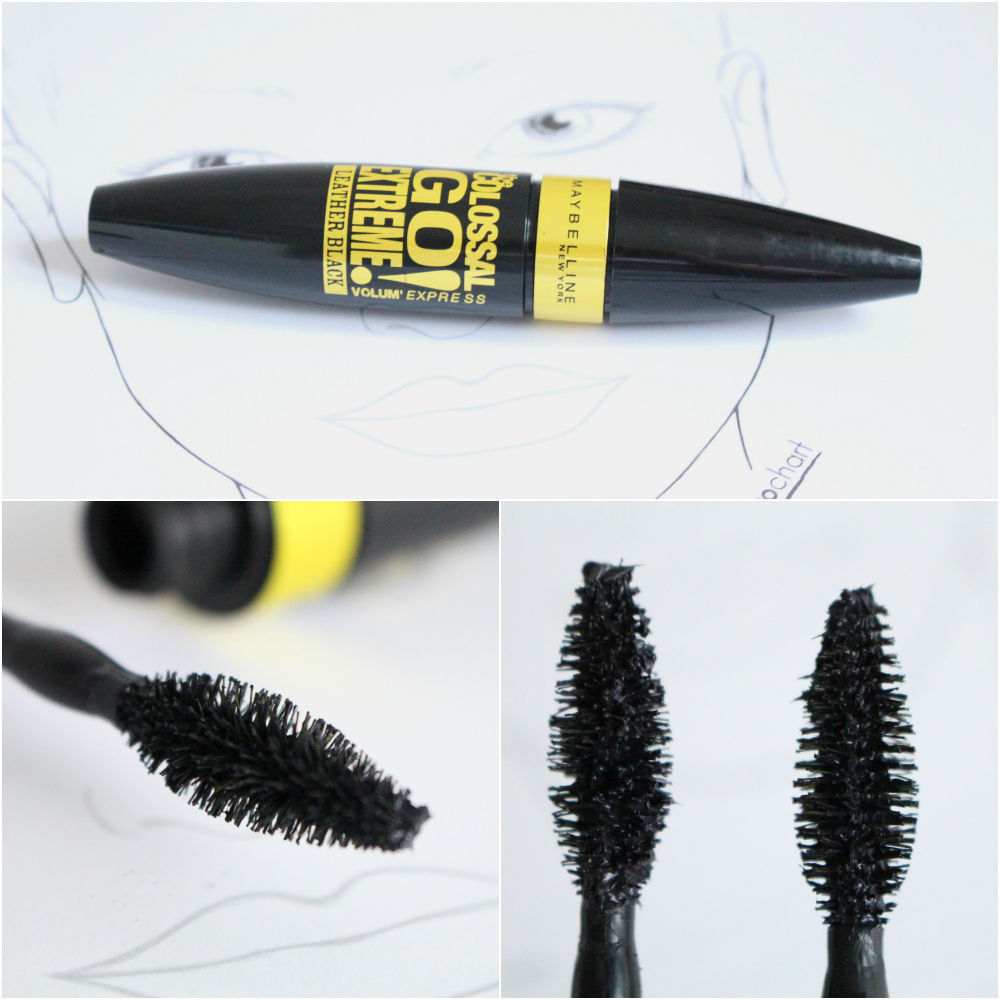 8a9ea4b8bdd Maybelline The Colossal Go Extreme Volum'Express Leather Black Mascara  collagen