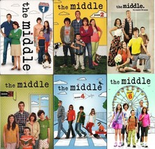 The Middle TV Series Complete Season 1 2 3 4 5 6 DVD Set TV Bundle Colle... - $98.99