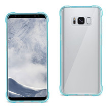 REIKO SAMSUNG GALAXY S8 CLEAR BUMPER CASE WITH AIR CUSHION PROTECTION IN... - $9.49