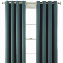 Kathryn Energy Saving Light-Filtering Grommet-Top Single Curtain Panel T... - $14.99
